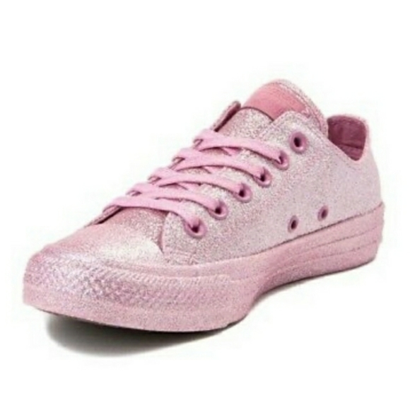 Pink Glitter Sneakers Znew Sparkly Rare